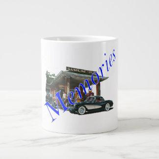 Vintage 1950s Service Station Large Coffee Mug