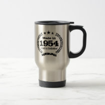 Vintage 1954 Aged to perfection coffee mug