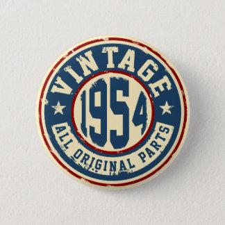Vintage 1954 All Original Parts Pinback Button