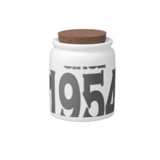 Vintage 1954 birth day limited t shirt png candy jar