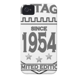 Vintage 1954 birth day limited t shirt.png Case-Mate iPhone 4 case