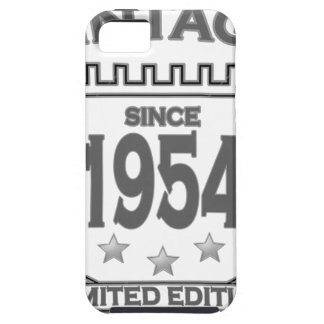 Vintage 1954 birth day limited t shirt.png iPhone 5 cover