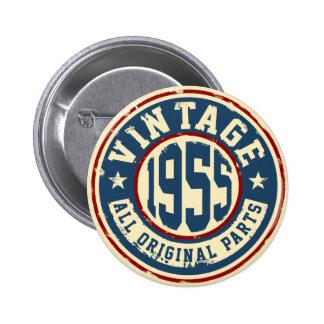 Vintage 1955 All Original Parts Button