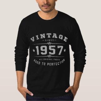 Vintage 1957 Birthday T-Shirt