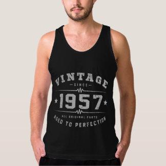 Vintage 1957 Birthday Tank Top