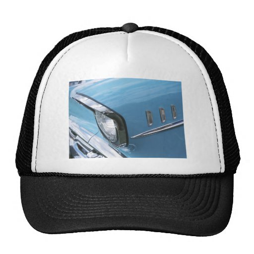 Vintage 1957 Chevy Car Grill Photograph Trucker Hat