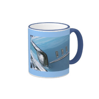 Vintage 1957 Chevy Car Grill Photograph Coffee Mugs