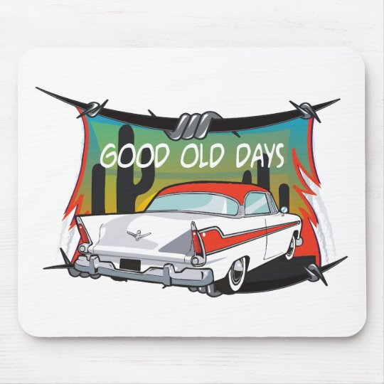 Vintage 1957 Plymouth Mouse Pad