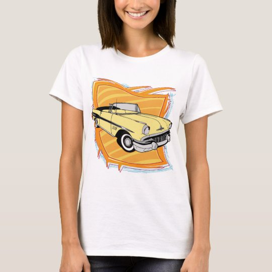 Vintage 1957 Pontiac Muscle Car T-Shirt