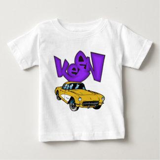 Vintage 1957 Vette Classic Corvette Grafitti KEEN Baby T-Shirt