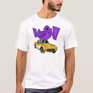 Vintage 1957 Vette Classic Corvette Grafitti KEEN T-Shirt