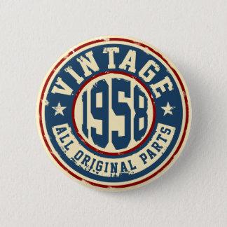 Vintage 1958 All Original Parts Button