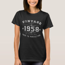 Vintage 1958 Birthday T-Shirt