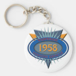 Vintage 1958 keychain
