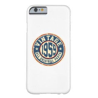 Vintage 1959 All Original Parts Barely There iPhone 6 Case