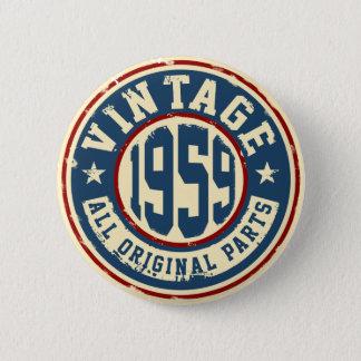 Vintage 1959 All Original Parts Button