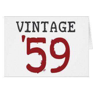 Vintage 1959 card