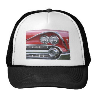 Vintage 1959 Classic Car Grill Photograph Trucker Hat