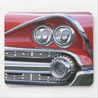 Vintage 1959 Classic Car Grill Photograph Mouse Pad