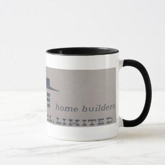 Vintage 1959 Curran Hall Home Builder Mug