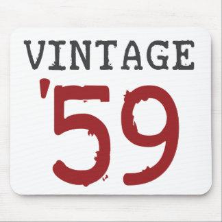 Vintage 1959 mouse pad