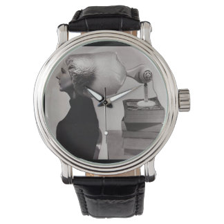 Vintage 1960s Hairstyle Beauty Parlor Watch