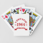 Vintage 1964 Aged to Paerfection Bicycle Playing Cards
