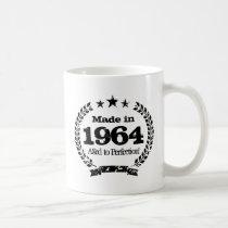Vintage 1964 Aged to perfection coffee mug