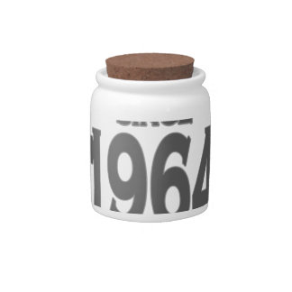 Vintage 1964 birth day limited t shirt png candy jar