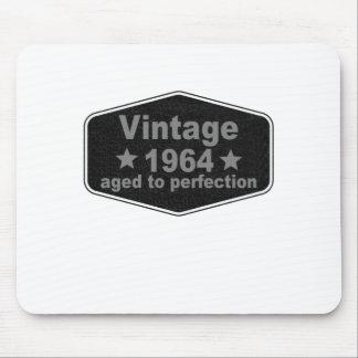 Vintage 1964 t-shirt.png mouse pad