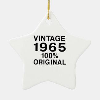 Vintage 1965 ceramic ornament