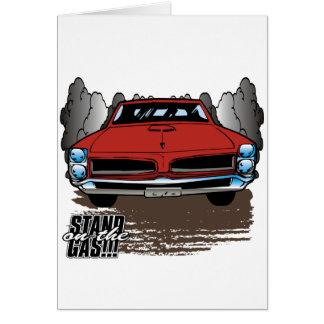 Vintage 1966 GTO Card
