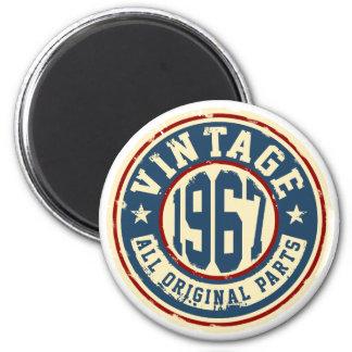Vintage 1967 All Original Parts Magnet