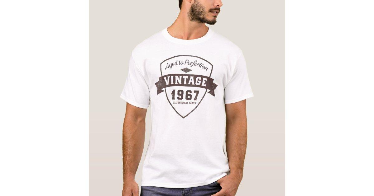 1c3a2df59 Vintage 1967 Funny 50th Birthday Party Shirt | Zazzle.com