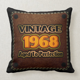Vintage 1968 - Aged To Perfection Pillow