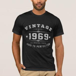 Vintage 1969 Birthday T Shirt
