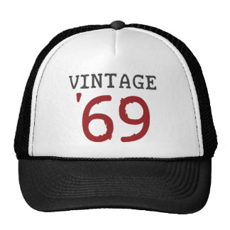 Vintage 1969 trucker hat