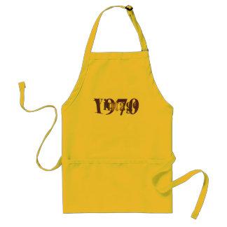 Vintage 1970 adult apron