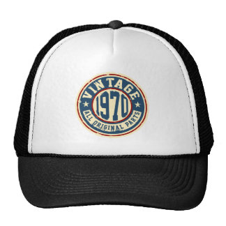 Vintage 1970 All Original Parts Trucker Hat