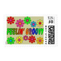 """Vintage 1970's """"Feelin' Groovy"""" gifts Postage"""