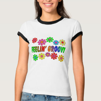 "Vintage 1970's ""Feelin' Groovy"" gifts T-Shirt"