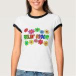"""Vintage 1970's """"Feelin' Groovy"""" gifts Tee Shirts"""