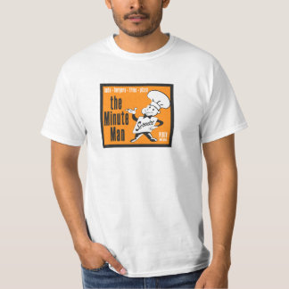 Vintage 1970's Minute Man T-Shirt