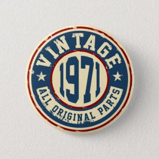 Vintage 1971 All Original Part Button