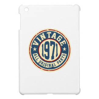 Vintage 1971 All Original Part Cover For The iPad Mini