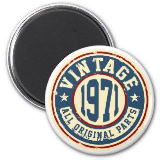 Vintage 1971 All Original Parts Magnet