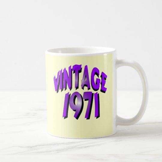 Vintage 1971 coffee mug