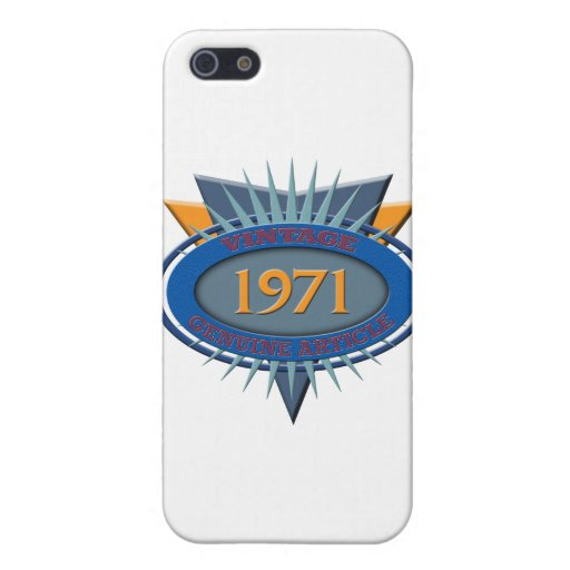 Vintage 1971 iPhone 5 protector