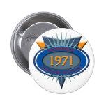 Vintage 1971 pin