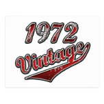 Vintage 1972 postales